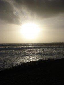 Winter sun, Brittany