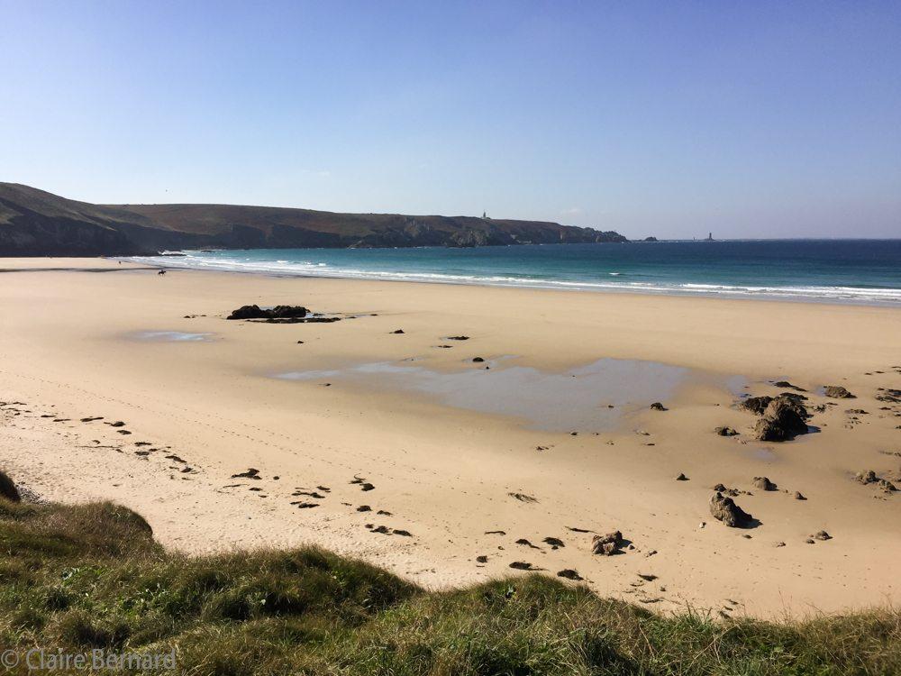 The Cap Sizun coast, in Brittany, France –  Drone Video