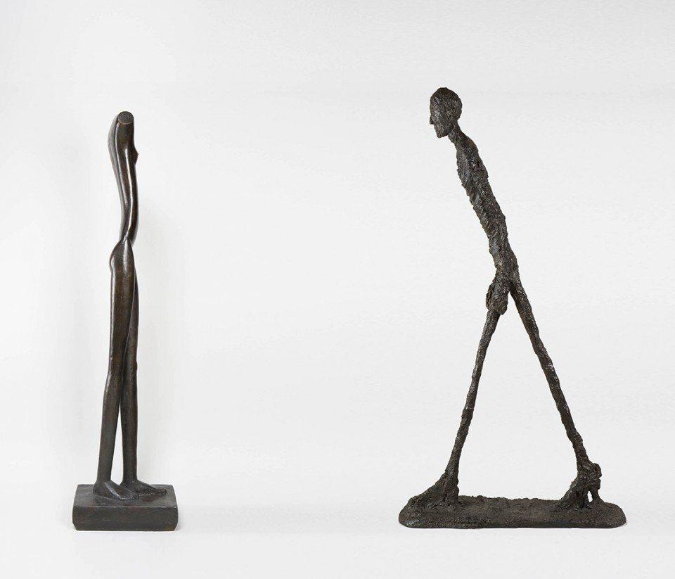 Giacometti Exhibition in Brittany