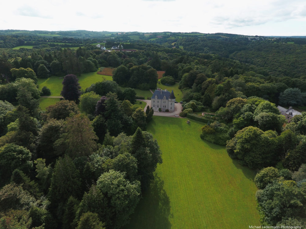 Aerial Views of the Chateau de Kistinic