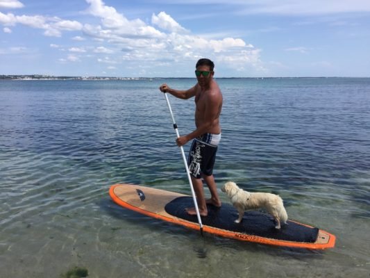 Stand Up Paddle Boarding in Brittany