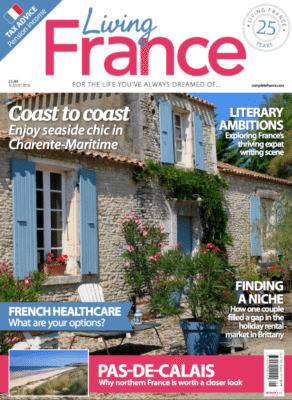 Frenchberry featured in Living France Magazine Aug'16