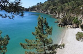 Stunning coastline near Lostmarc'h